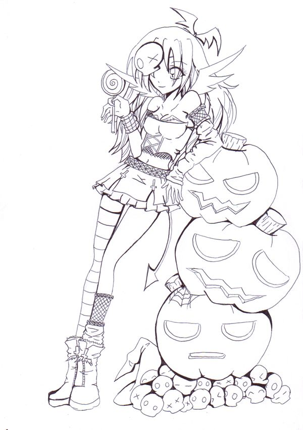 This lineart is very special to me since it have a personnal meaning Posing ref: Border: More info on El Día de los Muertos (Day of the Dead): See the all the Cutie Pie Lineart Collections here: