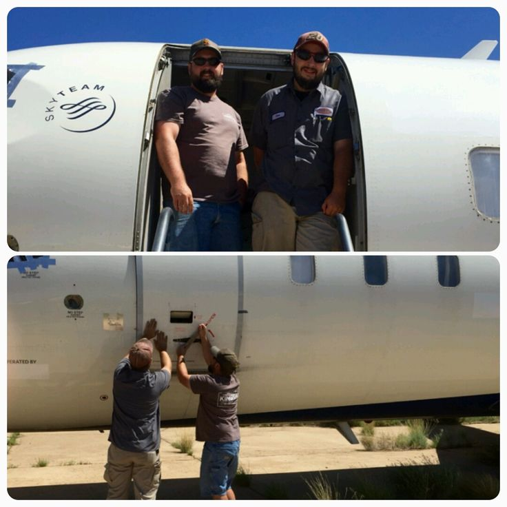Shane and Ben Connell share the aviation interest with their dad, Patrick Connell! #aviation #family #CAG