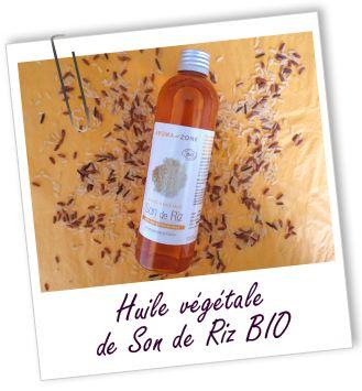 Huile végétale Son de riz BIO Aroma-Zone