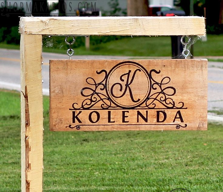 25 Best Ideas About Custom Yard Signs On Pinterest Personalized Plaques Paint For Wood And