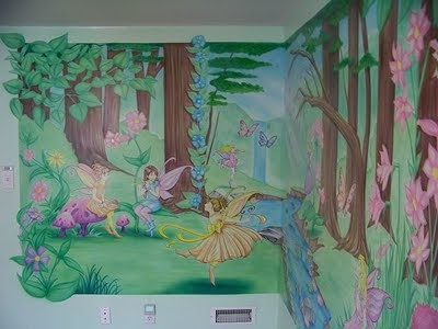 58 best enchanted forest images on pinterest for Enchanted forest mural