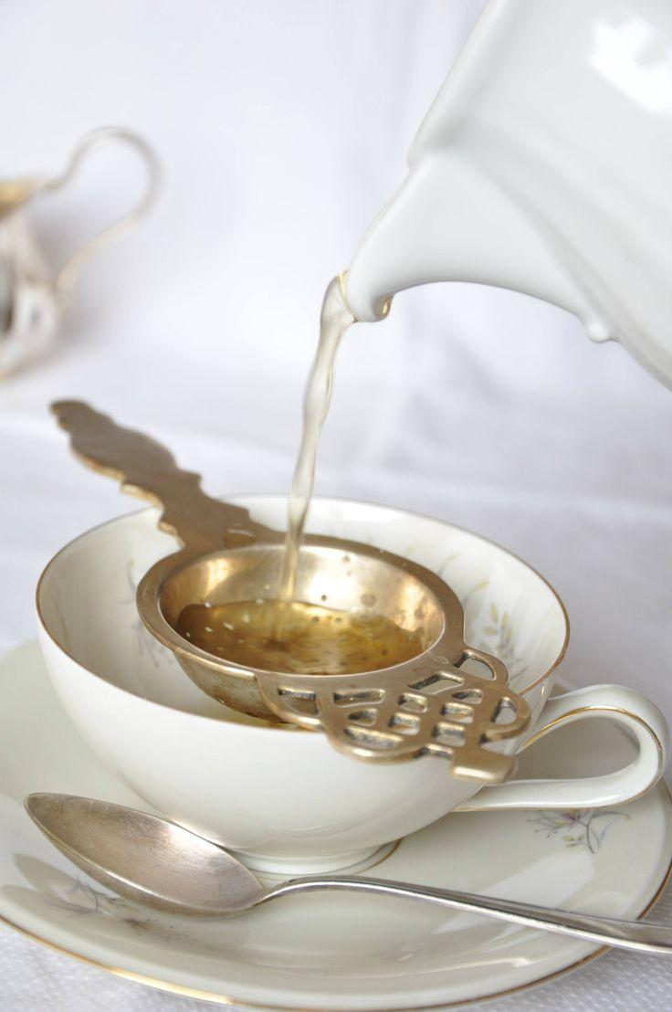 sárgaréz teaszűrő