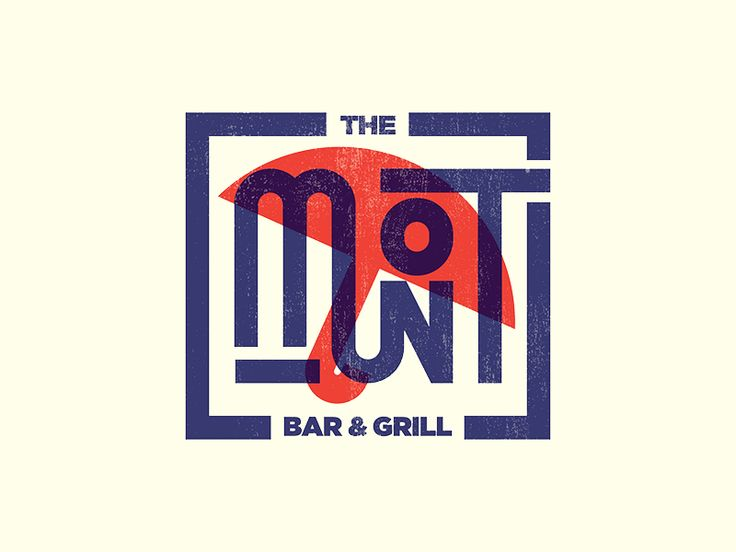 Logo WIP. 2x. Restaurant has iconic blue and red umbrellas in the outdoor seating.