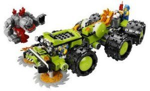 LEGO Power Miners Exclusive Limited Edition Set #8708 Cave Crusher by LEGO. $157.95. Battle beneath the earth! The Power Miners can grind through granite with the Cave Crusher's spinning front blades, flamethrower, and drill station. When rock monsters attack, the Cave Crusher's saw blades can be launched at the enemy. Includes two Power Miners and rock monster. Includes 1 red rock-throwing monster and 2 minifigures: 1 engineer and 1 Power Miner! Accessories include...