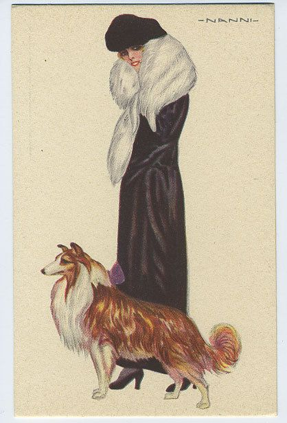 """art deco dog pictures 