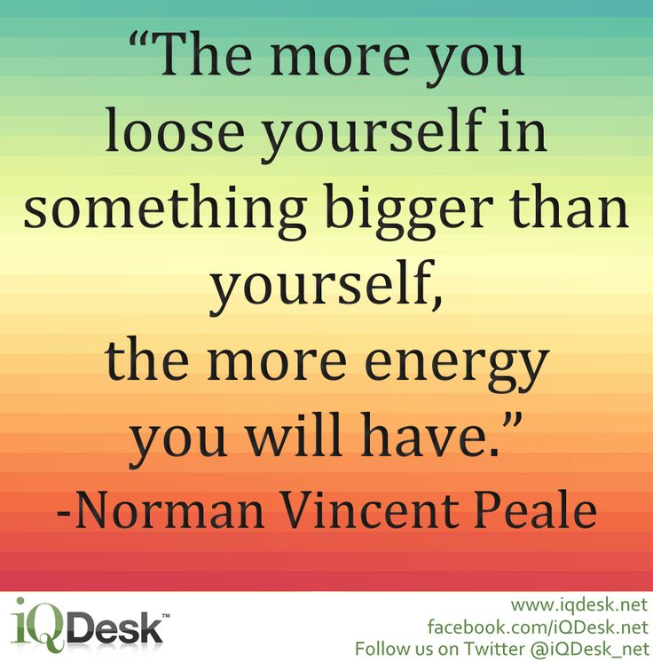 Norman Vincent Peale Quotes Yourself