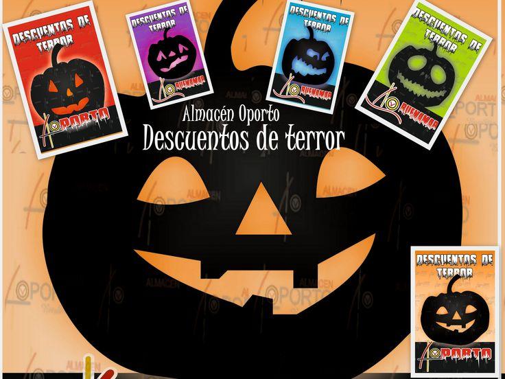 Halloween, Pánico y  Descuentos Almacén Oporto