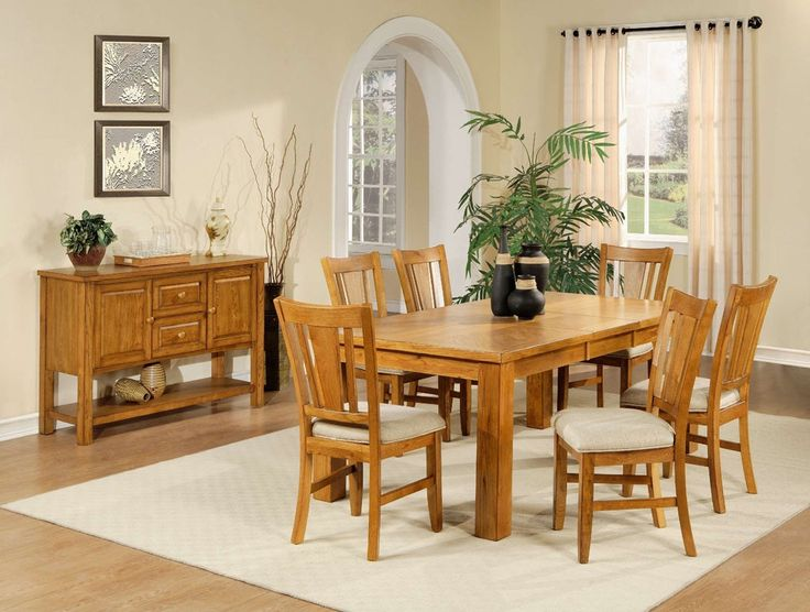 Best 25 Oak Dining Room Set Ideas On Pinterest  Oak Dining Room Fascinating Dining Room Chairs Oak Inspiration