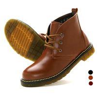 Cuero impermeable Hombres Martin Botines otoño / invierno de la manera a prueba de agua Zapatos bota Botas de Hombre Botas Hombre Sapatos