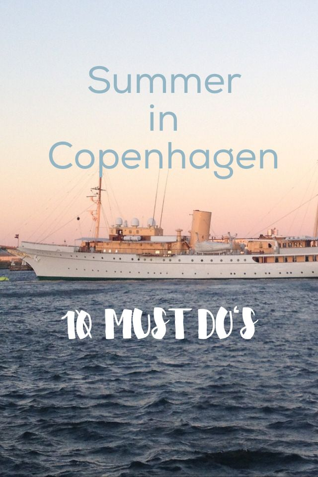 10 Amazing Things to Do during a Summer in Denmark's Capital City!