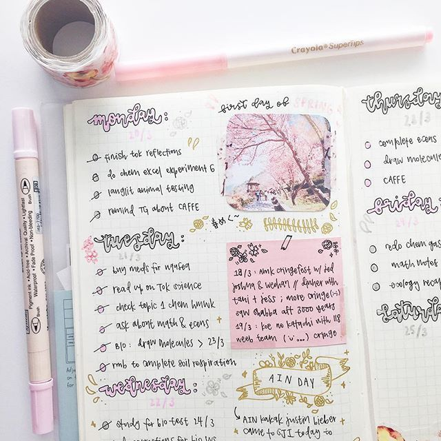 Great ideas for journal layouts