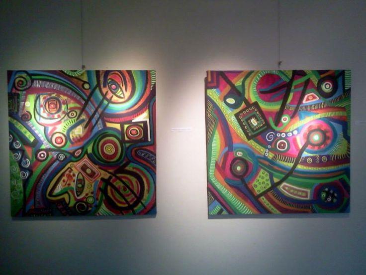 expo 2014.Acrylyc on canvas.Florencia Mittelbach