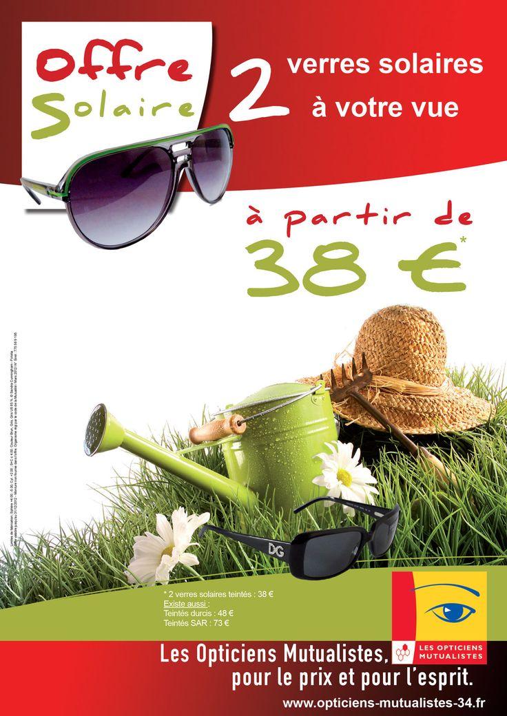 Optique mutualiste : Publicité sur lieu de vente des opticiens mutualistes Hérault (34)
