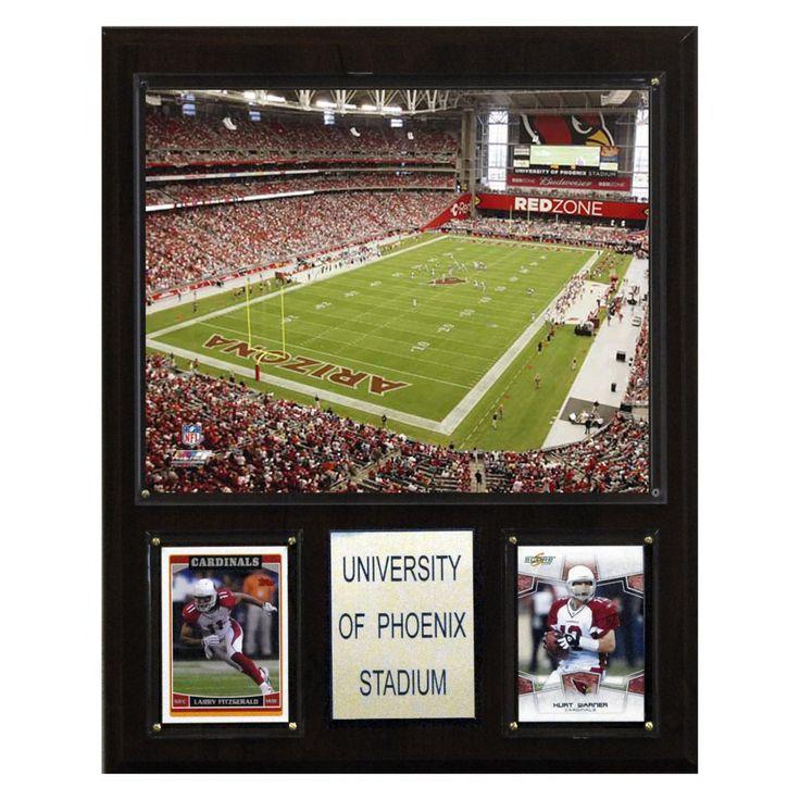 NFL 12 x 15 in. University of Phoenix Stadium Plaque - 1215UPHST