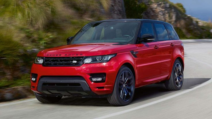 Also at NYIAS 2015 is the Range Rover Sport HST, using a 380hp supercharged V6 from the Jaguar F-Typ... - Land Rover
