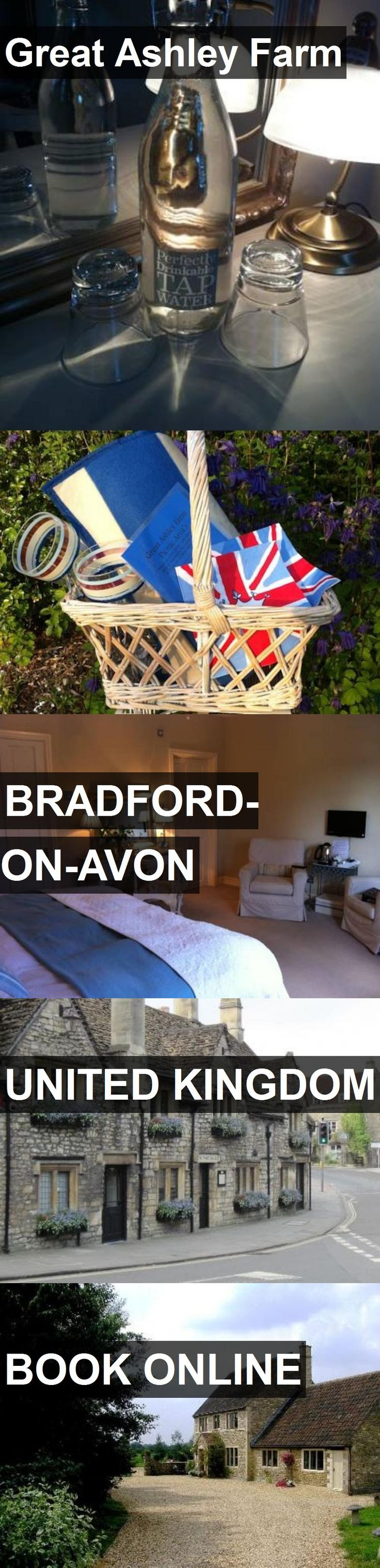Hotel Great Ashley Farm in Bradford-on-Avon, United Kingdom. For more information, photos, reviews and best prices please follow the link. #UnitedKingdom #Bradford-on-Avon #travel #vacation #hotel