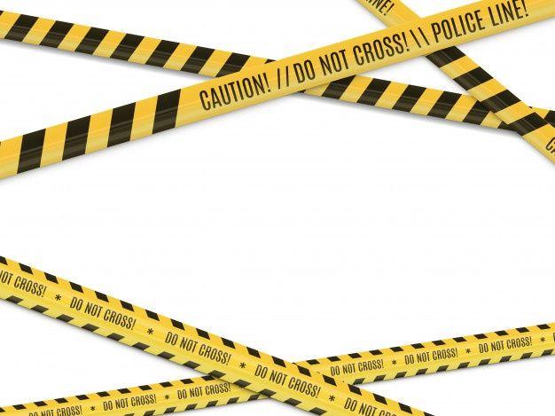Escena Del Crimen Advertencia De Peligr Premium Vector Freepik Vector Ribbon Borde Linea Dibujos An Escenas Del Crimen Ilustracion De Sirena Crimen