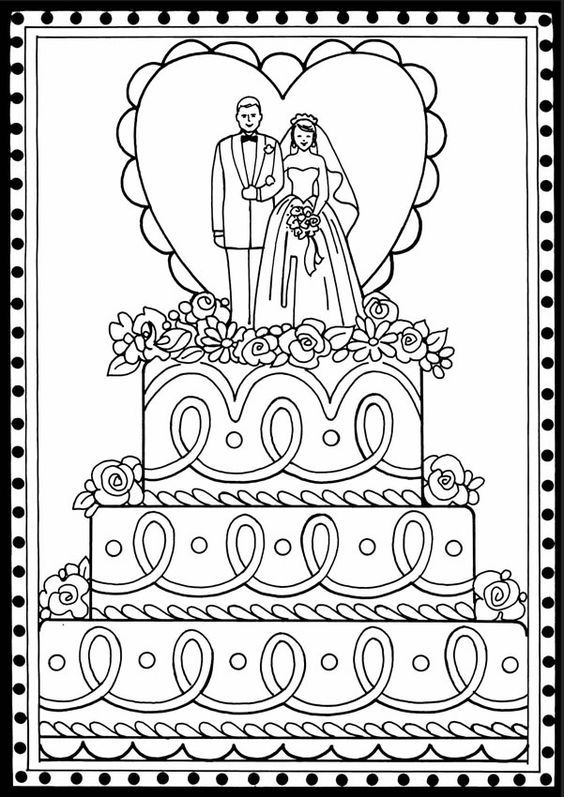 best 25 wedding coloring pages ideas on pinterest kids