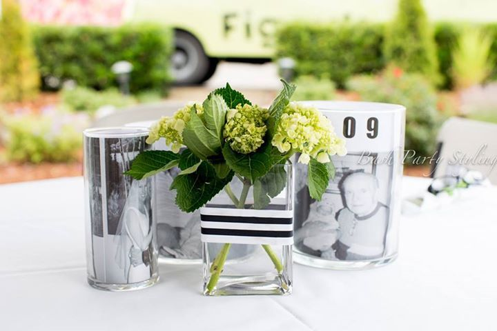 50th birthday centerpieces 50th party ideas pinterest - Centerpiece ideas for men ...