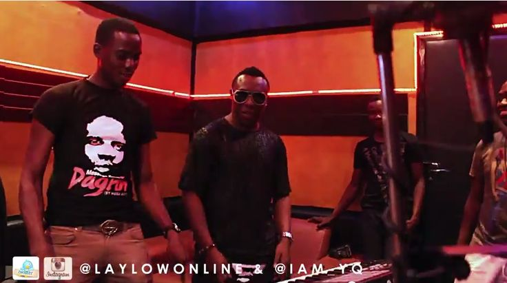 "MRSHUSTLE VIDEO: LAYLOW & YQ IN THE STUDIO MAKING THE NEW SINGLE ""MILITARY MAN"""