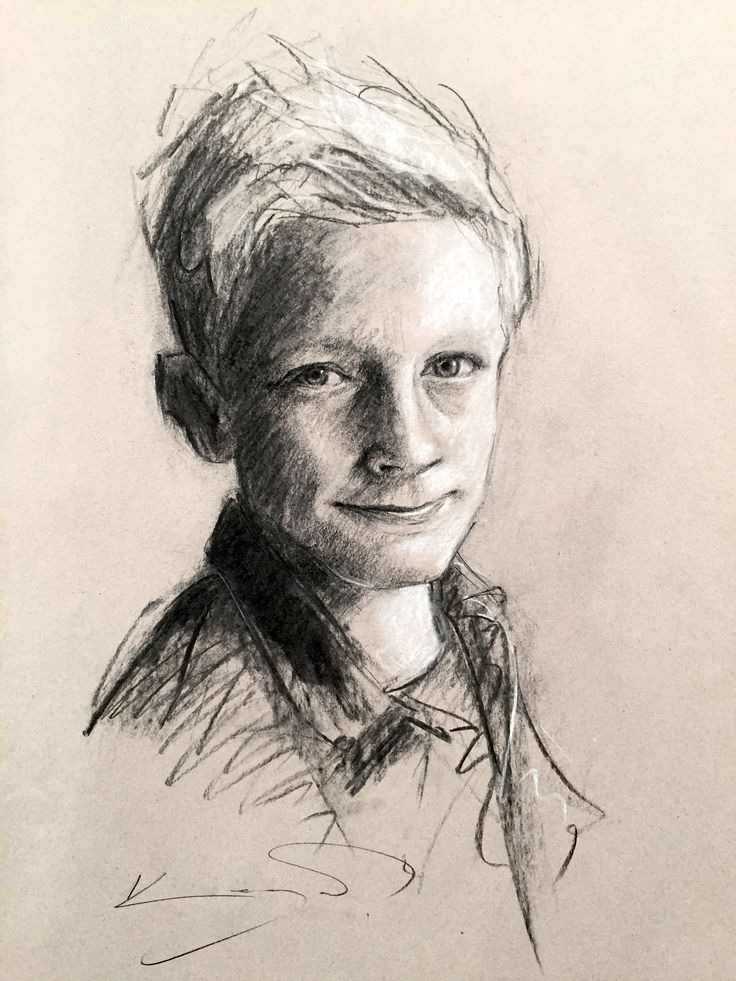Learn how to create gorgeous #charcoal #portraits like this one with Peter Keegan - the latest addition to the ArtTutor team.
