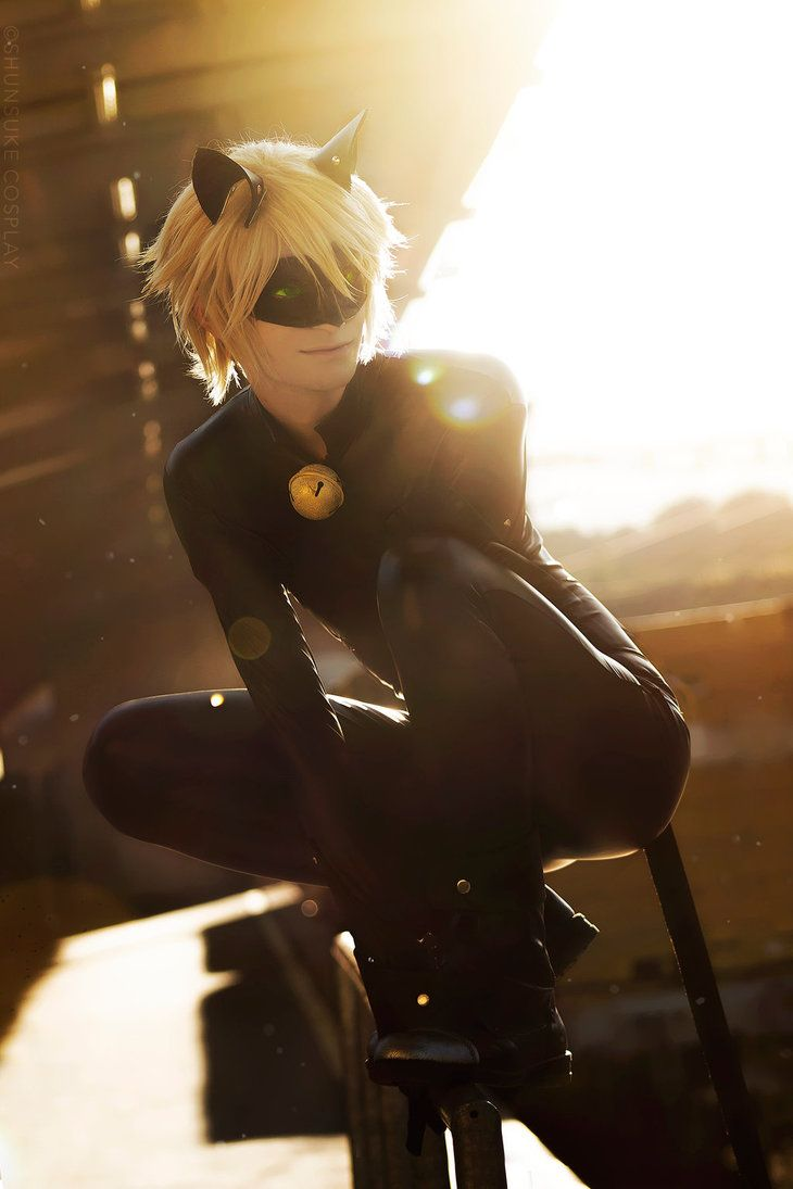 Chat noir Cosplay by ShunsukeCosplay,costume by miccostumes