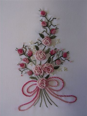 How to Make Beautiful 3D Flower with Thread Embroidery | www.FabArtDIY.com LIKE Us on Facebook == https://www.facebook.com/FabArtDIY