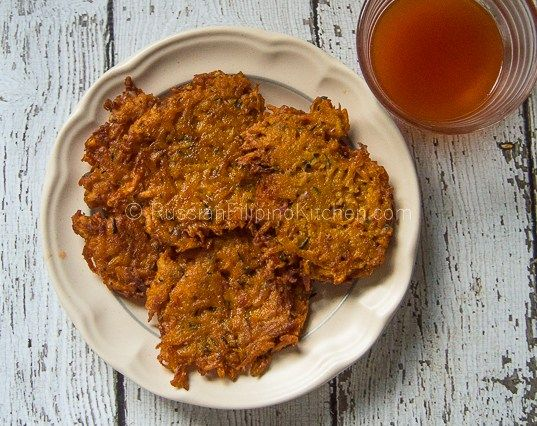 Squash Okoy Recipe (Kabocha Squash Fritters) 10