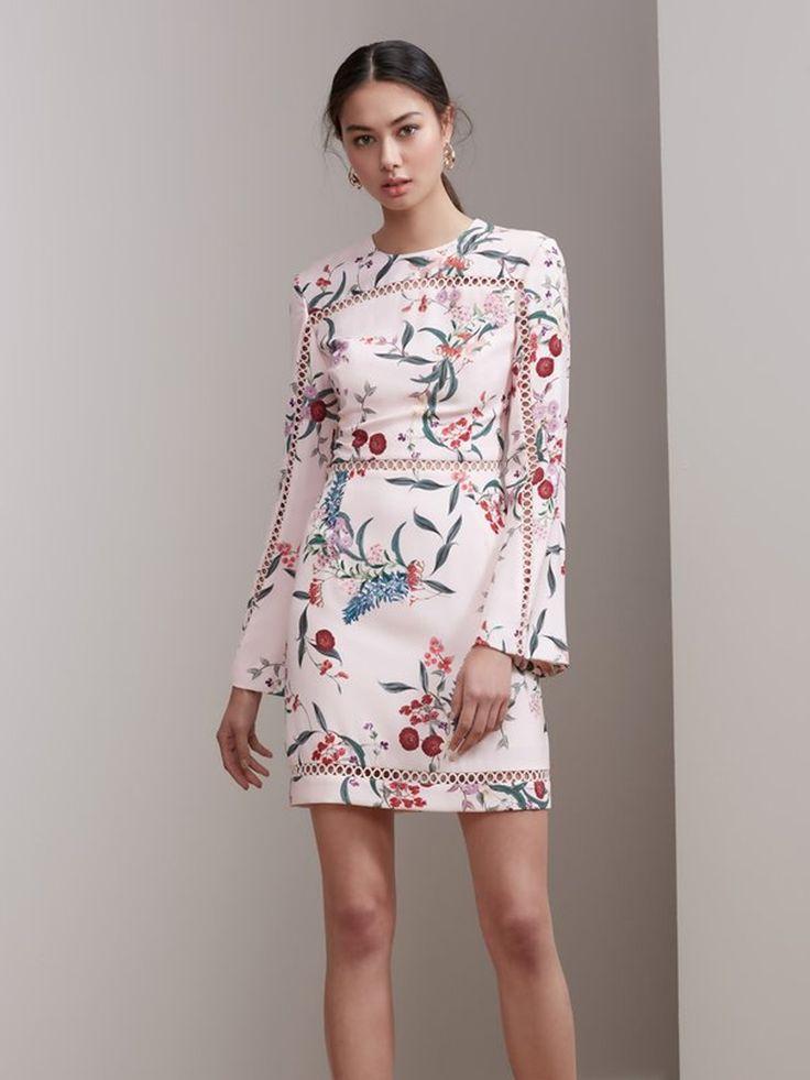 Keepsake - Indulge Long Sleeve Mini Dress