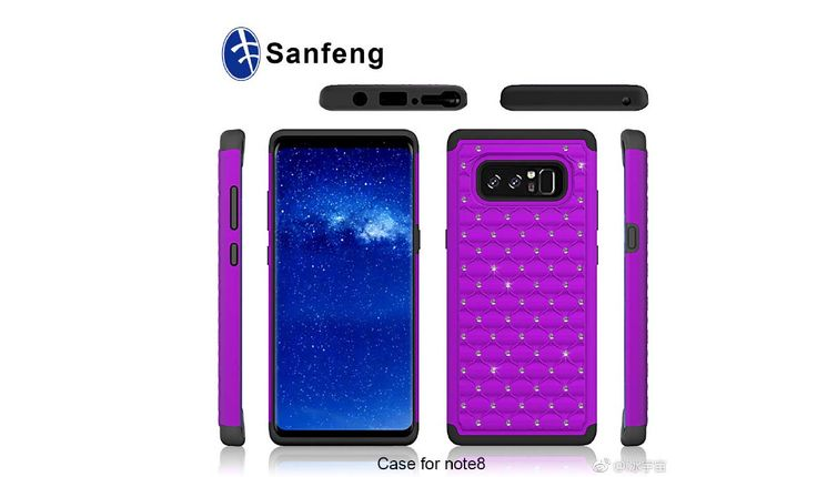 Several New Renders Of Sanfeng Galaxy Note 8 Cases Leak #Android #Google #news