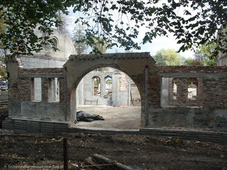 Fotoblog tychy-miasto-nieuczesane.flog.pl. - Tychy Paprocany. Przebudowa Huty Paprockiej. Stan na 28.09.2012