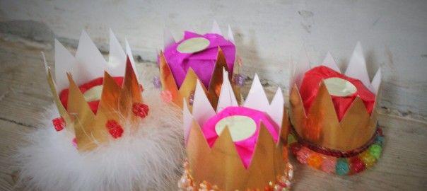 DIY fastelavn diy hvordan laver man prinsessekroner slå katten af tønden kreativ tid cityprinsesserne