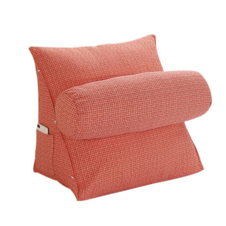 adjustable back wedge pillow cushion promote correct sitting posture durable support pillow pearl
