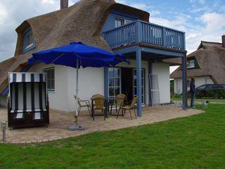 Haus Küstenzauber auf Zinnowitz: 3 Schlafzimmer, für bis zu 7 Personen. Familienfreundliches Haus unter Reet,Sauna,Kamin,Fahrräder,Haustiere willkommen | FeWo-direkt