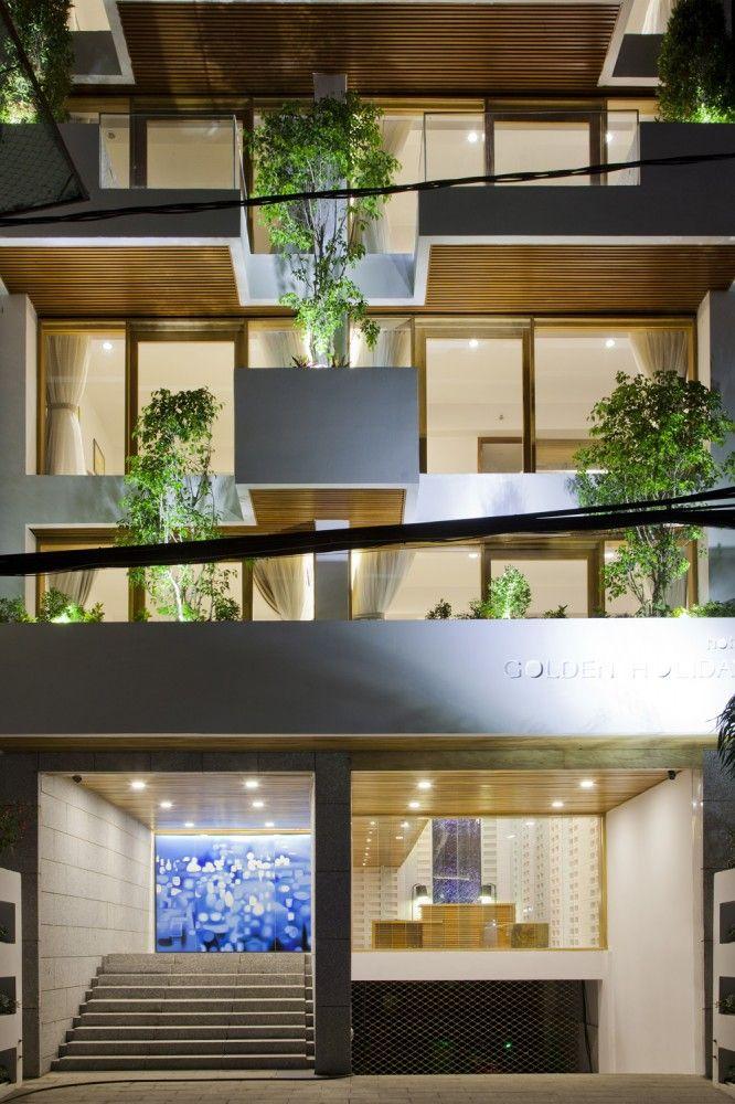 Hotel Golden Holiday in Nha Trang / Trinhvieta-Architects
