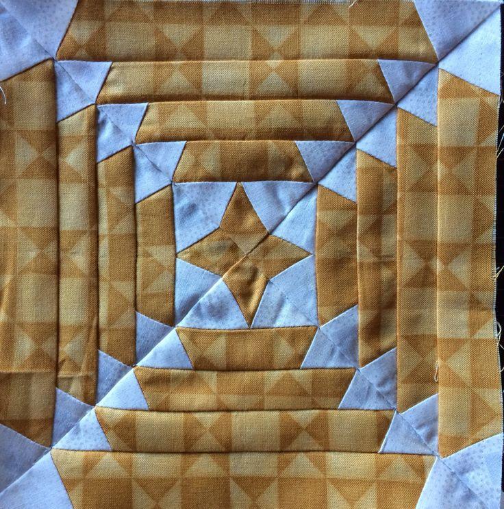 Pineapple Quilt block パイナップルパターン
