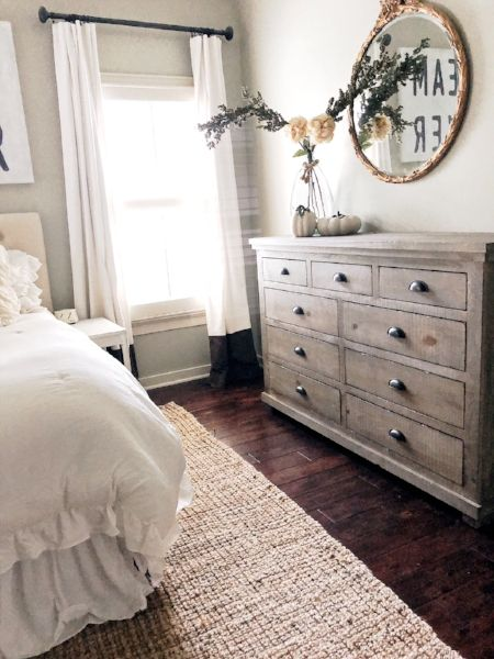 How To Decorate With Neutrals In The Fall | Our Room. | Pinterest | Bedrooms