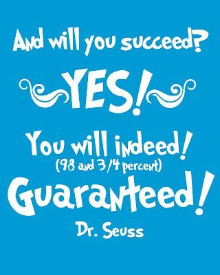 Some of the best Dr. Seuss book quotes -- tons of ideas to use for decorating a classroom or a child's room!