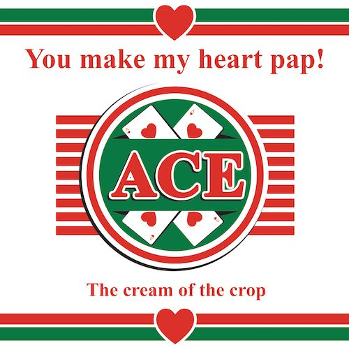 You make my Heart Pap love card for Kinky Rhino Greeting Cards in South Africa #greetingcard #southafricancard #southafrica #card #pap #ace #mieliepap #mielie #porridge #love #southafricanfood #valentines #food #african #south