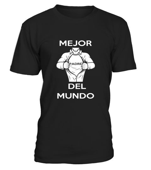 Mens Mejor Padre Del Mundo Espanol Best Father in the World Hero - Limited Edition