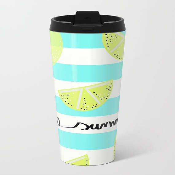 Tazza da viaggio in metallo / Hello Summer Metal Travel Mug