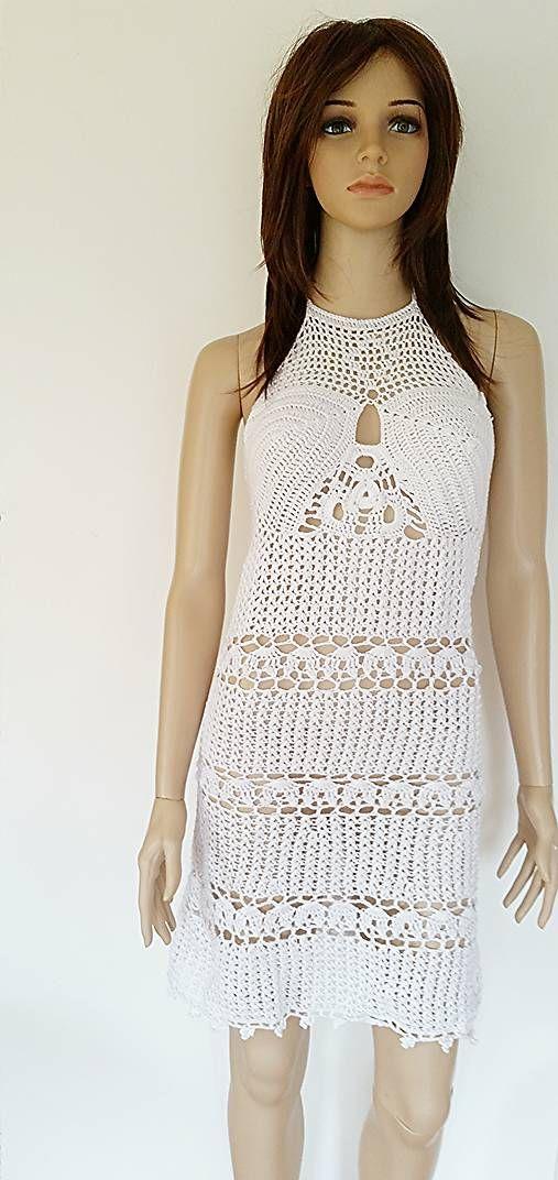 beate1 / Letné šaty v bielom...♥