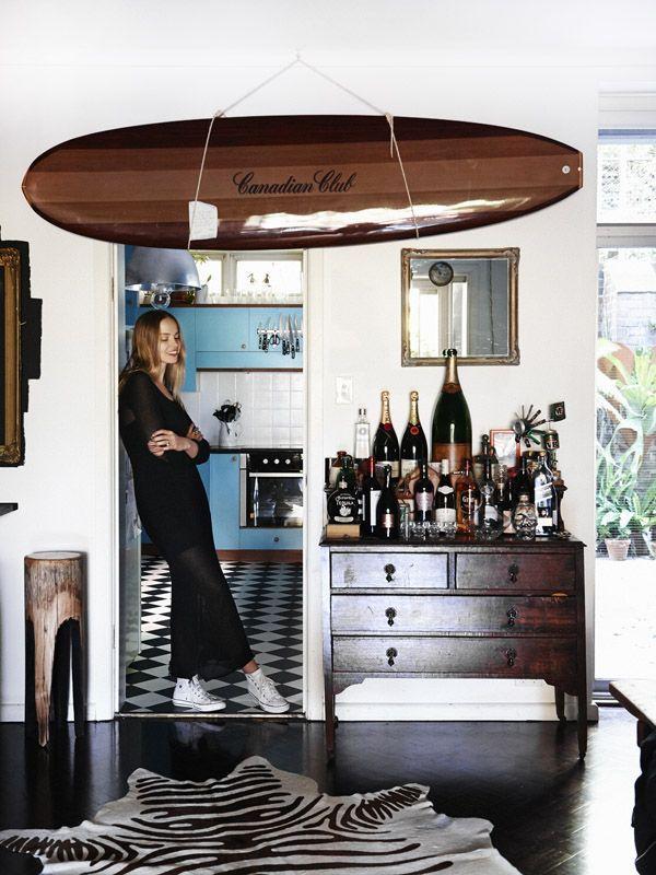les 25 meilleures id es de la cat gorie d coration de planche de surf sur pinterest artisat de. Black Bedroom Furniture Sets. Home Design Ideas