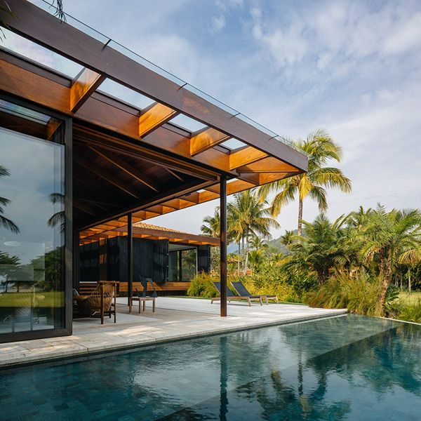 Modern House Exterior Design Modern Tropical House Design: Best 25+ Tropical Architecture Ideas On Pinterest