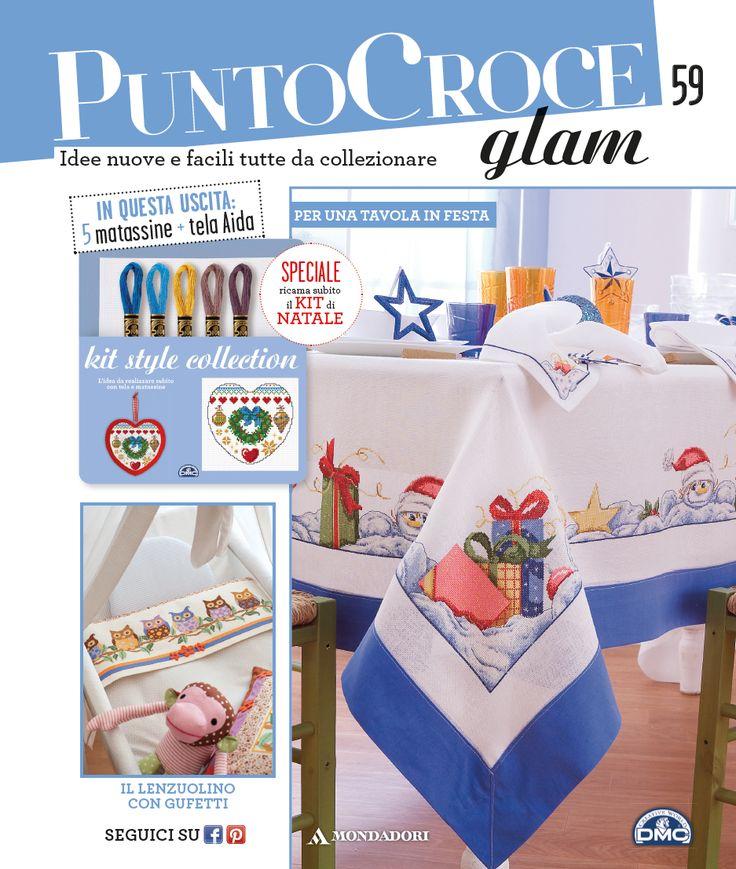 58 best images about La collezione Punto Croce Glam on Pinterest  A 4, Tes and Filo