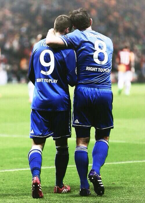 Fernando Torres and frank Lampard #cfc #chelseafc