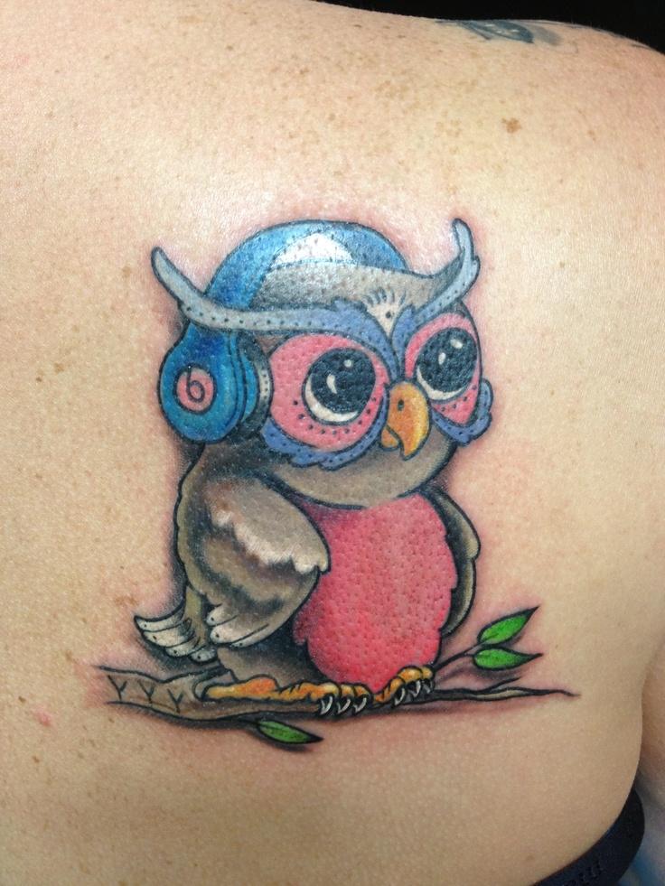 silly owl www jimfrancistattoo