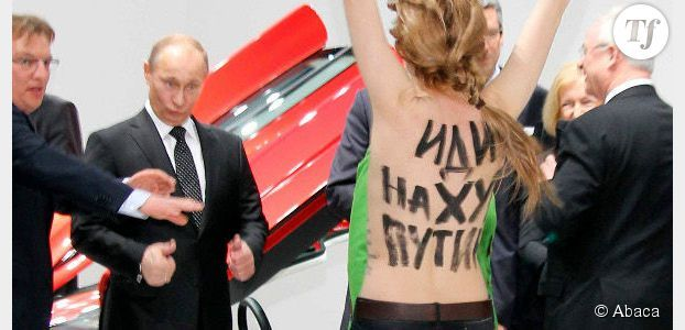 Femen : Poutine apprécie la performance