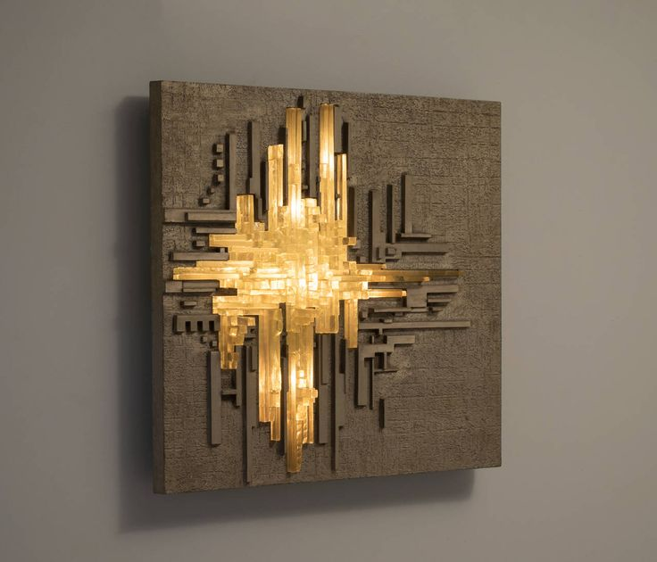 Wall Light Sculpture: 1000+ Images About Wall Sculptures On Pinterest