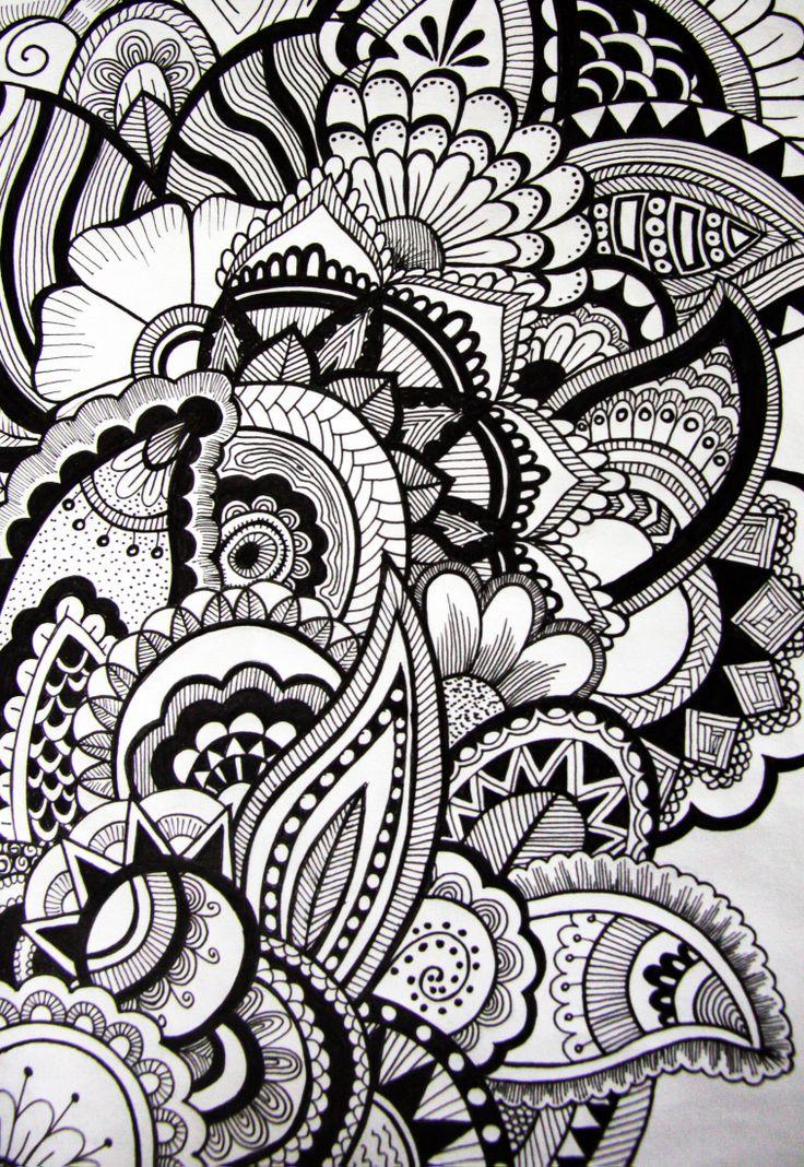 Pin by Kris Savas on Zentangling ideas   Pinterest